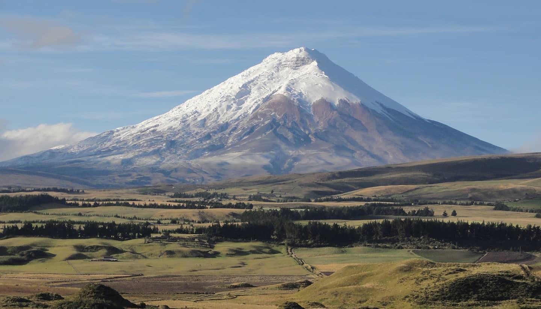 Cotopaxi Volcano Ecuador Hop